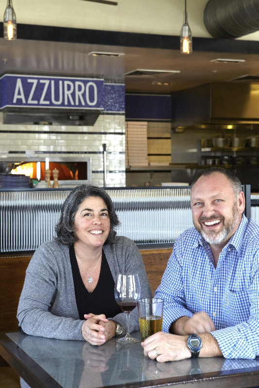 Owners of Azzurro Pizzeria